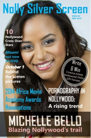 Nollywood Trailblazer Michelle Bello headlines Nolly Silver Screenonline magazine