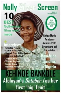 Kehinde Bankole covers Independence issue of Nolly Silver Screen