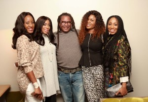 Mo Abudu, Omoni Oboli, Dakore Egbuson-Akande, Ireti Doyle Hosted To A Pre-Premiere Cocktail By The British Council Ahead Of The London Film Festival Premiere Of 'Fifty