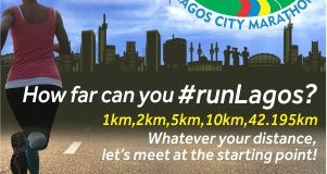 Elite Athletes Turn Up for the Lagos City Marathon.