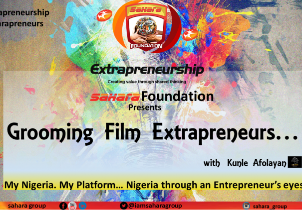 Sahara Foundation to 'Groom Film Extrapreneurs with Kunle Afolayan'