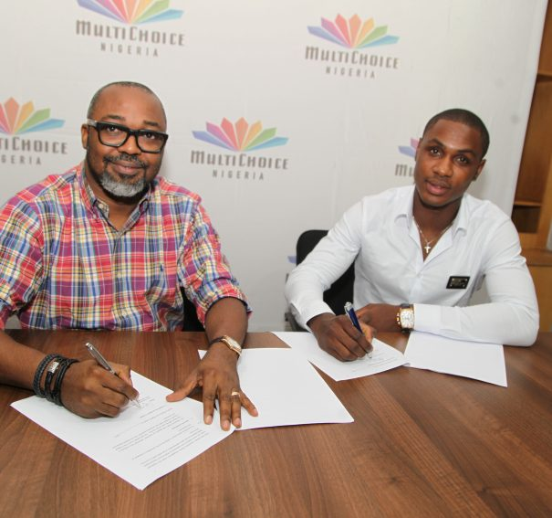 MultiChoice signs Odion Ighalo as Ambassador