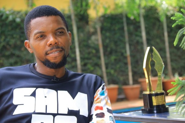 Sambasa Nzeribe wins #AMVCA2017 Best Actor in a Drama