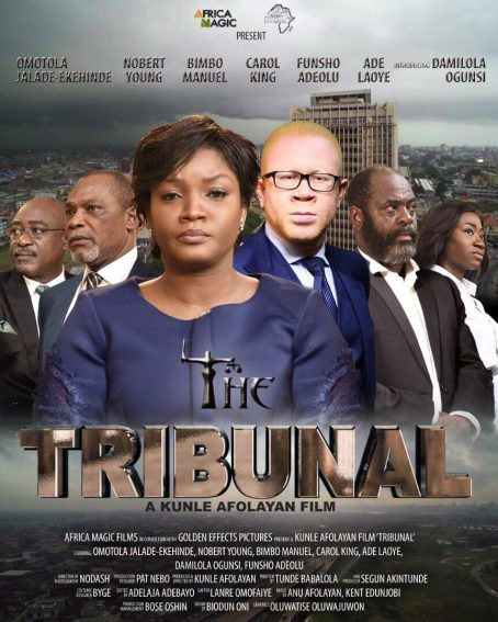 Kunle Afolayan's 'Tribunal' Gets Ready For July Release!