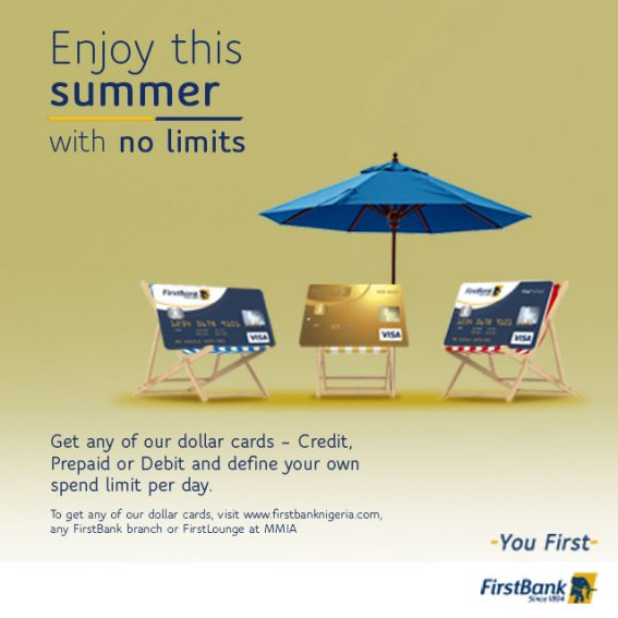 Enjoy Your Summer with FirstBank Dollar Denominated Cards!!!