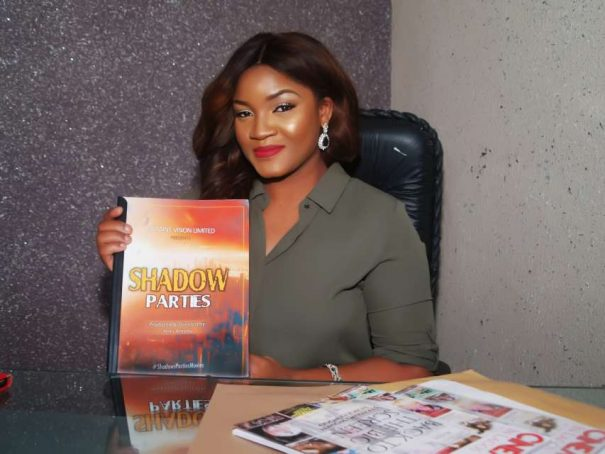 Omotola Signs new movie Project!