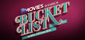 100 Movies to See in your Lifetime with the M-Net Movies Bucket List Pop-up Channel!