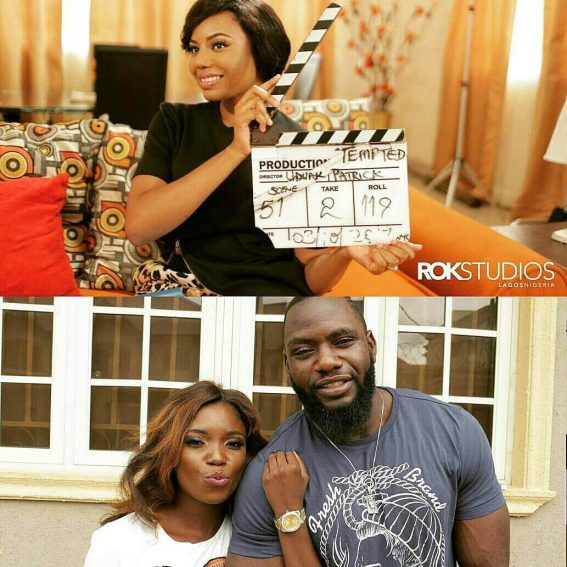 Uduak Obong Patrick Wraps Up Filming For 'Tempted'!