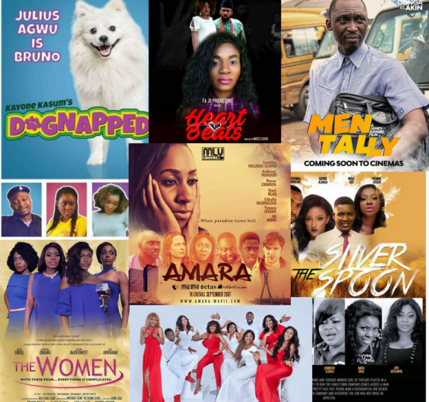 10 Recommended Nigerian Films Showing This Week!