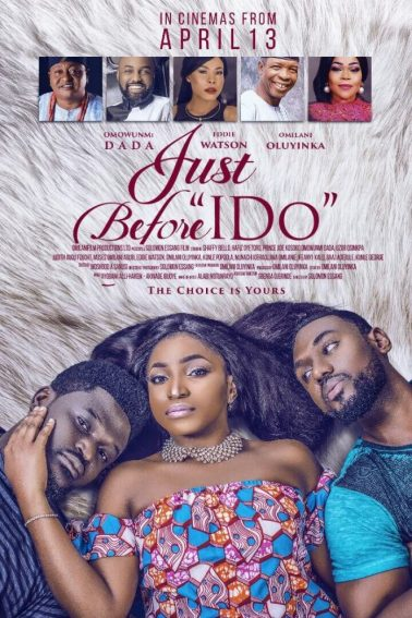 "#NTA: Watch Trailer for ""Just Before I say I do"" featuring Shaffy Bello & Jide Kosoko."