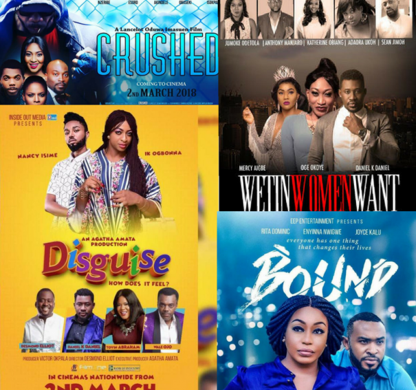 7 Nollywood films slated for release in March!