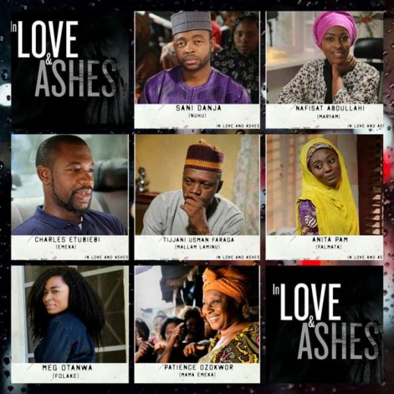 "Patience Ozokwor & Meg Otanwa set to feature in new series,""In Love and Ashes""!"