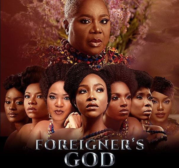 "Onyeka Onwenu, Sam Dede and Pete Edochie star in ""Foreigner's God""!"