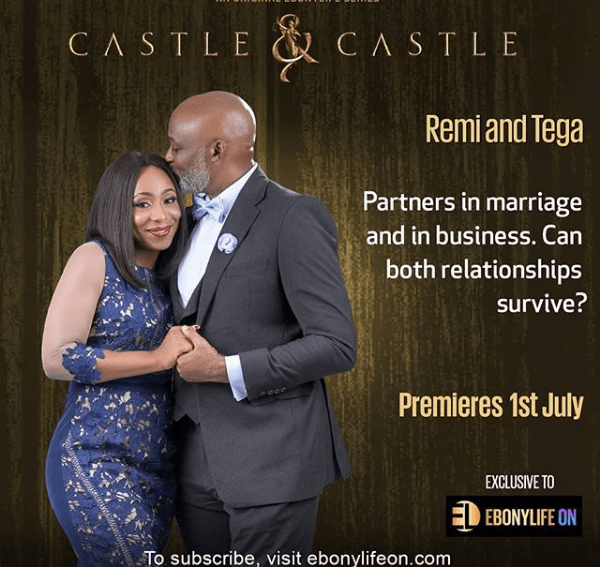 "EbonyLifeTV's ""Castle and Castle"" featuring RMD, Dakore Egbuson set for July 1, release!"