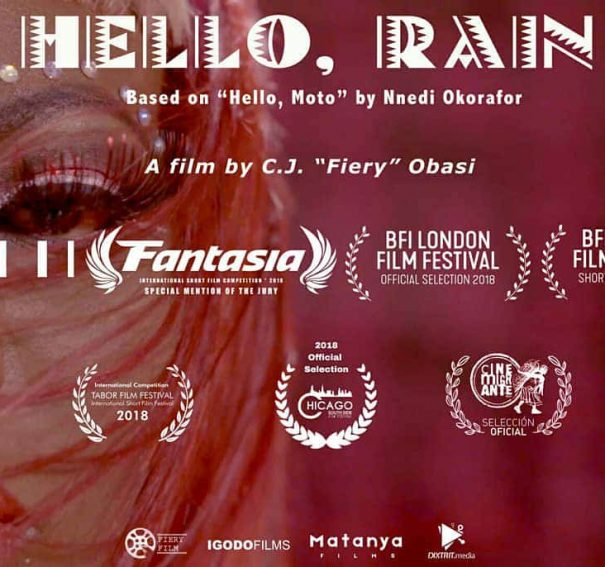"C.J. Obasi's ""Hello, Rain"" Selected for BFI London Film Festival!"