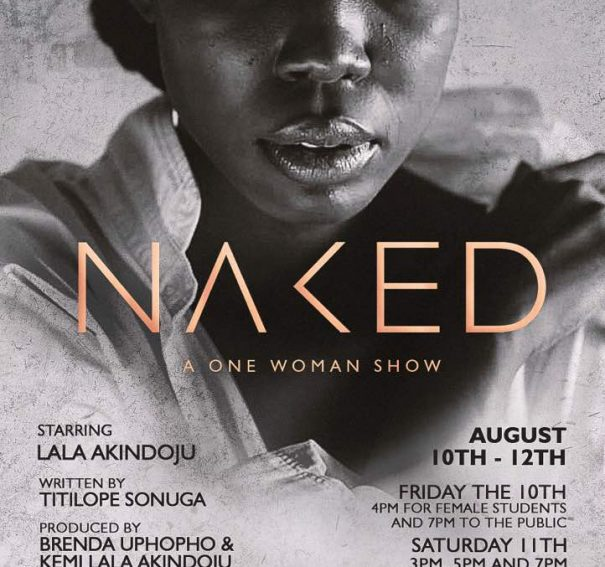 Kemi 'Lala' Akindoju Bares It All in Naked!