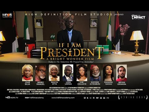 Check out #NewTrailer for Political Drama 'If I Am President'.