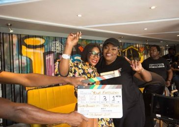 "BTS: Funke Akindele makes Directorial Debut with Ebony Life's ""Your Excellency""!"