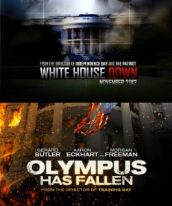 Movie Face-off: Olympus Has Fallen Vs White House Down.