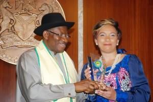 "AGN appoints President Jonathan ""Grand Patron"""