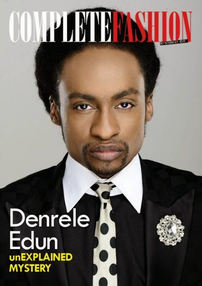 Denrele Covers The New Edition of Complete Fashion Magazine