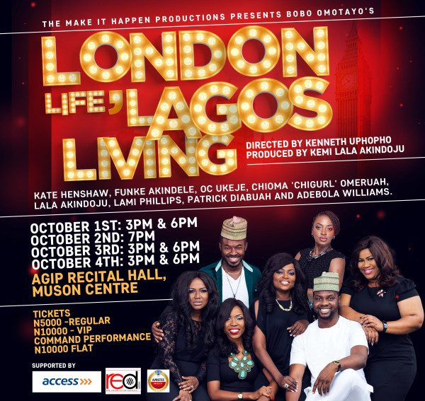 "Bobo Omotayo's ""London Life, Lagos Living"" coming to theatre"