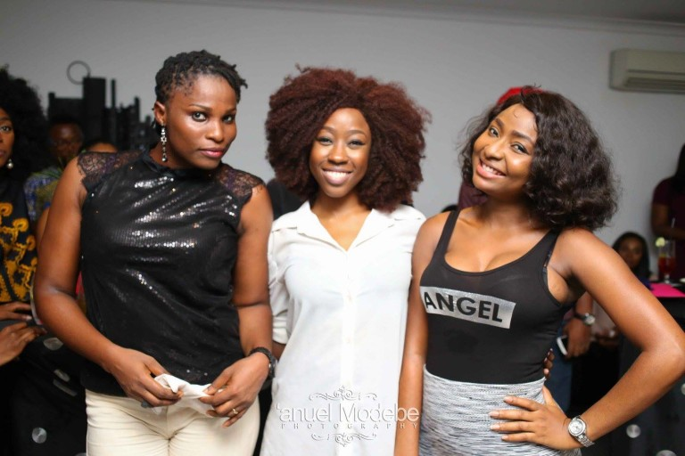 Blessing Egbe, Beverly Naya & Belinda Effah