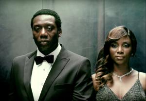 Genevieve & Hakeem Flex in new Nollywood Clip…