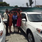 Stephanie Linus and Lala Akindoju Pick Up SUVs