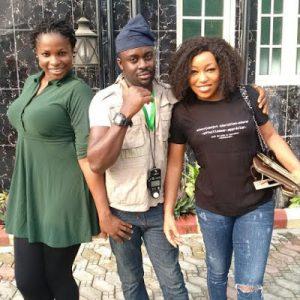 Rita Dominic Stars in Blessing Egbe's new movie 'One Room'