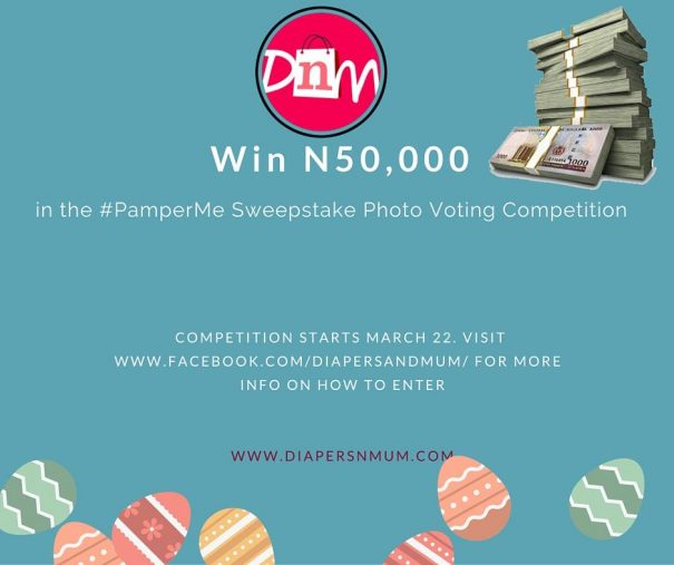 DiapersNMum launches #PamperMe Photo Voting Competition