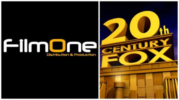 FilmOne Cinemas Partners with Twentieth Century Fox