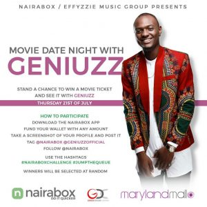 Win a Movie Date Night with Geniuzz