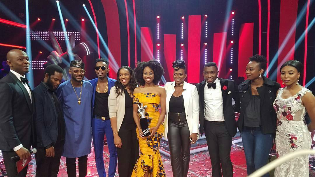 The voice nigeria photo session image