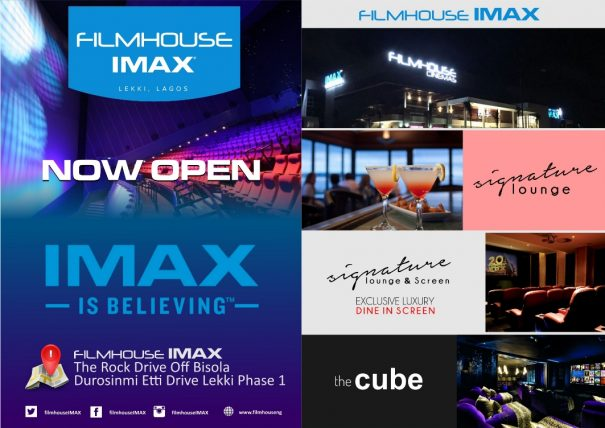 First Ever IMAX Cinemas Opens Up in Lekki!