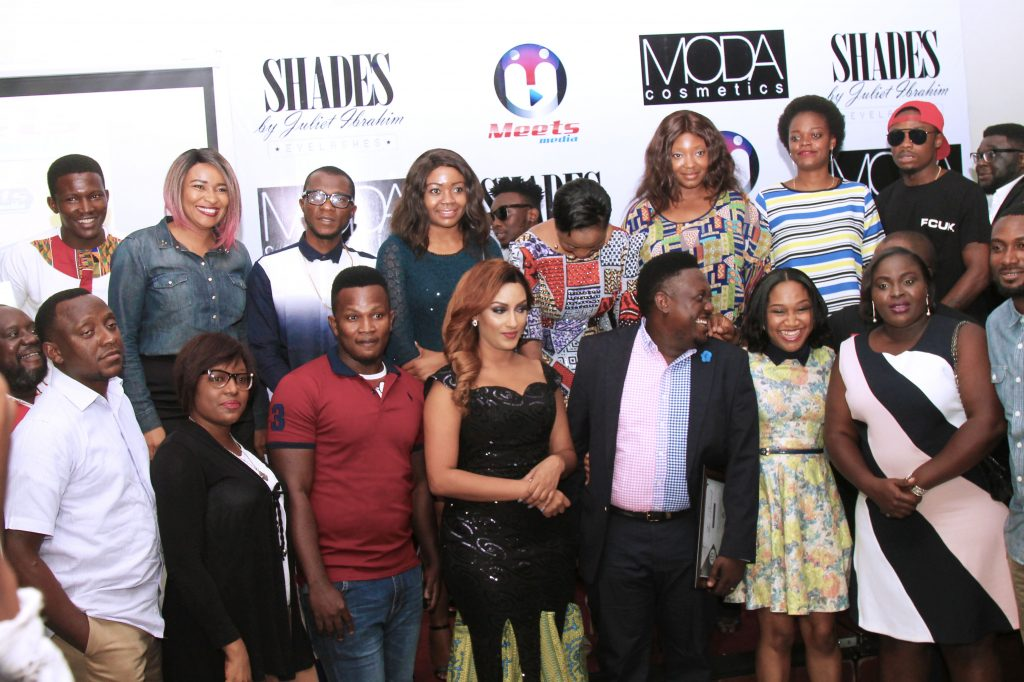 Oye and Margaret Akideinde, Juliet Ibrahim and Friends of Oye.