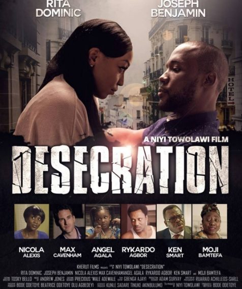 'Desecration' by Niyi Towolawi is Set to Hit the Cinemas