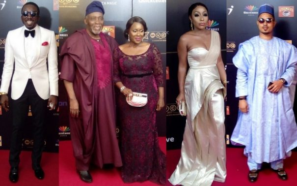 Check Out Red Carpet Photos with Minnie Dlamini, Alex Ekubo, Imeh Bishop, Chioma Akpotha, and More