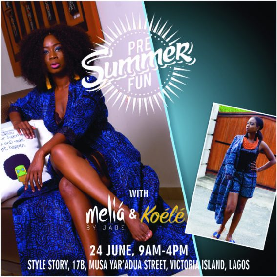 KOELE AND MELIA BY JADE: TWO NIGERIAN BRANDS WITH A GLOBAL APPEAL LAUNCH THEIR PRE-SUMMER COLLECTION!