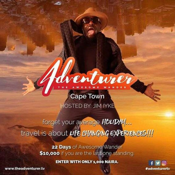"Jim Iyke launches a second Reality Show ""The Adventure""!"