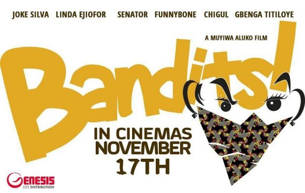 See Joke Silva, Chigul Omeruah & Gbenga Titloye In BTS Photos For 'Bandits'!
