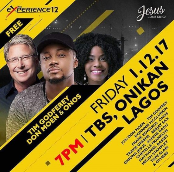 "Donnie Mcclurkin, Don Moen, Others Headline ""The Experience 2017″– HOUSE ON THE ROCK"