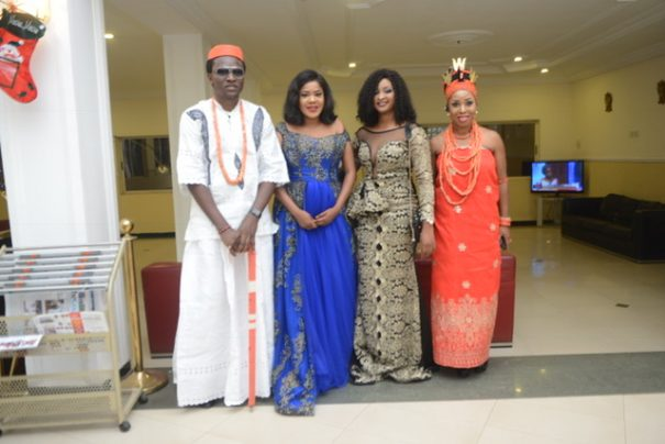 Check out photos from the Benin Premiere of the epic movie, Esohe!.