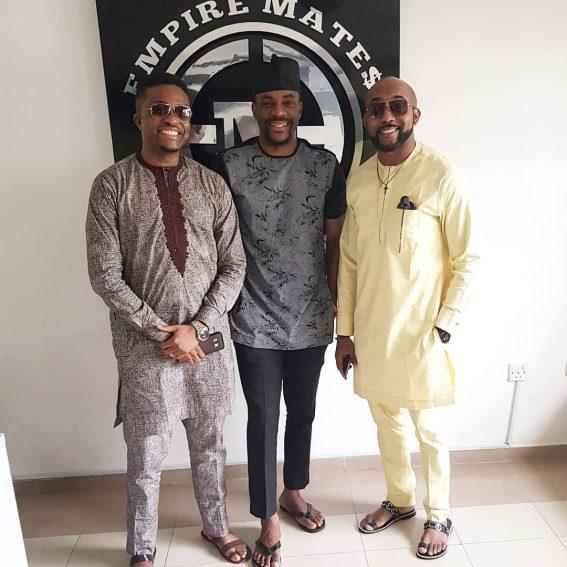 Banky W signs Adesua Etomi, Ebuka Obi Uchedu & others to Empire Mates Entertainment