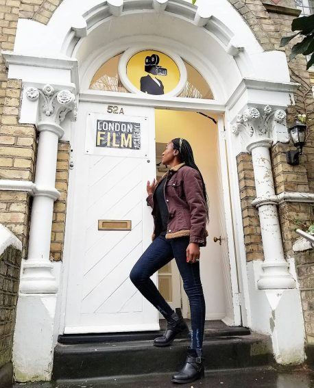 Judith Audu enrolls in London Film Academy to advance her Directing skills!
