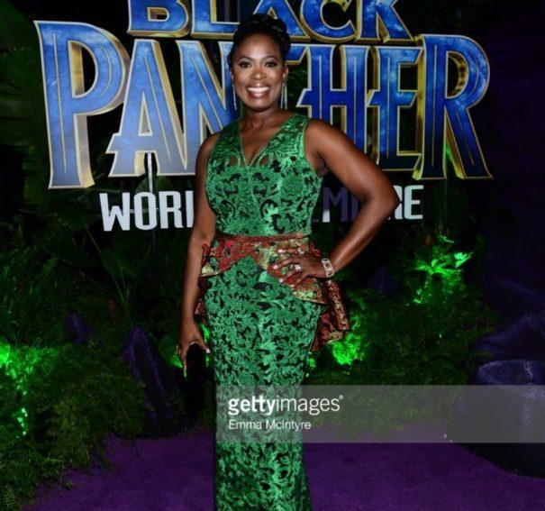 Nigerian Gal, Sope Aluko stars in Black Panther!