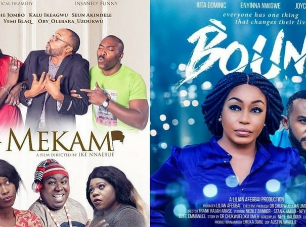 #MondayMovieMadness: 11 Nigerian Films Showing In Cinemas This Week