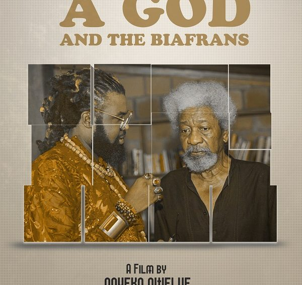 "Onyeka Nwelue's New Film Feature ""Wole Soyinka: A God and the Biafrans"" goes to Havard"