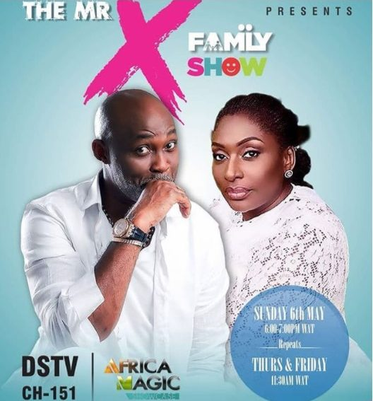 "Richard Mofe Damijo & Ego Boyo reunite for ""The Mr X Family"", coming to Africa Magic!"