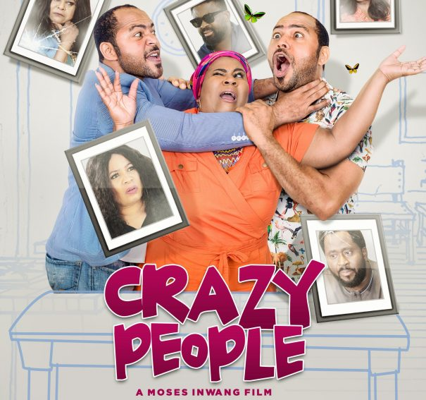 "NTA: Ramsey Nouah, Chigul, Sola Sobowale, Ireti Doyle, Kunle Afolayan, Monalisa Chinda, Desmond Elliot in ""Crazy People"""